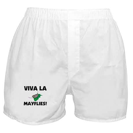 Viva La Mayflies Boxer Shorts