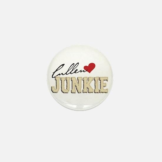 Unique Twilight junkie Mini Button