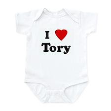 I Love Tory Infant Bodysuit