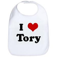 I Love Tory Bib