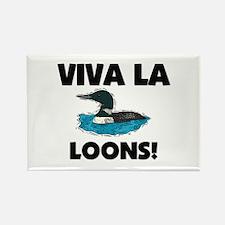 Viva La Loons Rectangle Magnet