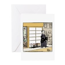Samurai Greeting Cards (Pk of 20)