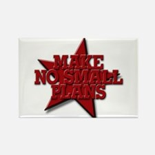 Make No Small Plans Rectangle Magnet (10 pack)
