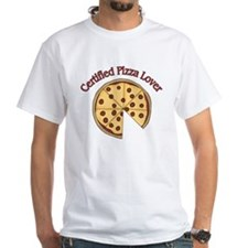 Certified Pizza Lover Shirt