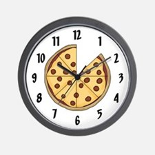 Certified Pizza Lover Wall Clock
