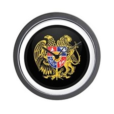 Coat of Arms of Armenia Wall Clock