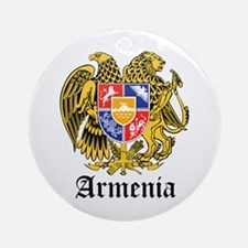 Armenian Coat of Arms Seal Ornament (Round)