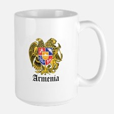 Armenian Coat of Arms Seal Large Mug