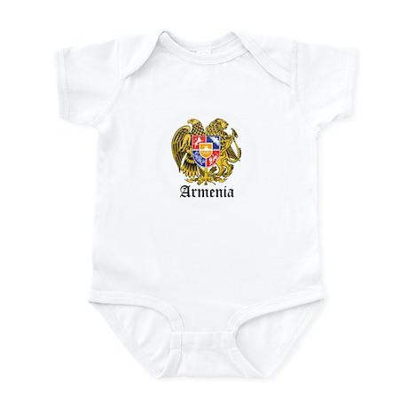 Armenian Coat of Arms Seal Infant Bodysuit