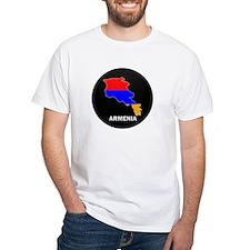 Flag Map of Armenia Shirt