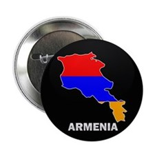 "Flag Map of Armenia 2.25"" Button"