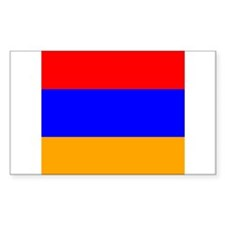 Armenian Rectangle Decal