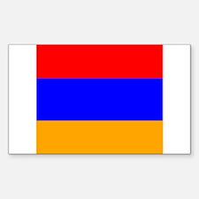 Armenian Rectangle Decal