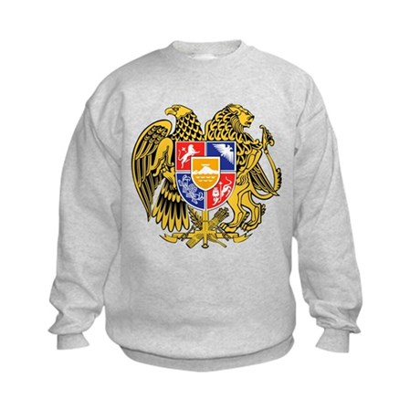 Armenia Coat of Arms Kids Sweatshirt