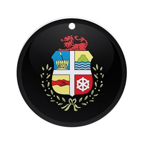Coat of Arms of Aruba Ornament (Round)