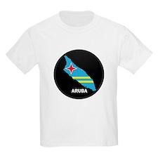 Flag Map of Aruba T-Shirt