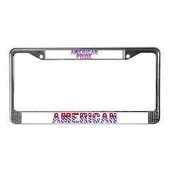 American Pride License Plate Frame