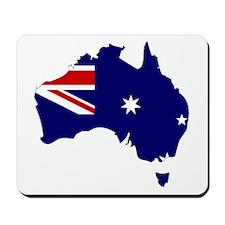 Australia Flag Map Mousepad