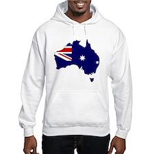 Australia Flag Map Jumper Hoody