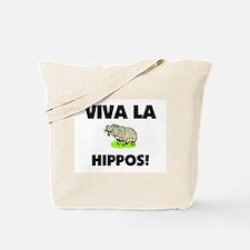 Viva La Hippos Tote Bag