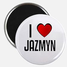 I LOVE JAZMYN Magnet