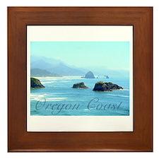 Oregon Coast Framed Tile