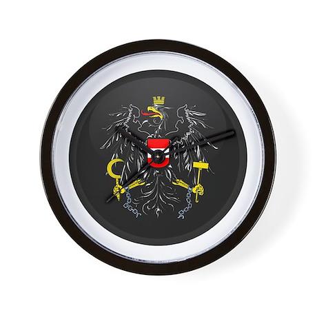 Coat of Arms of Austria Wall Clock