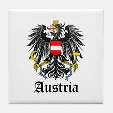 Austrian Coat of Arms Seal Tile Coaster