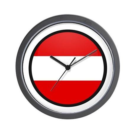 Austria Wall Clock