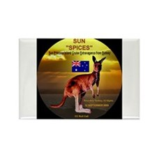 Sun SPICES R/T SYD 2009 Rectangle Magnet