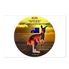Sun SPICES R/T SYD 2009 Postcards (Package of 8)
