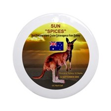 Sun SPICES R/T SYD 2009 Ornament (Round)