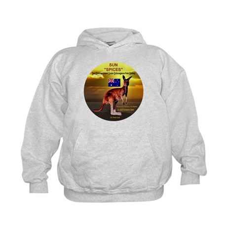 Sun SPICES R/T SYD 2009 Kids Hoodie