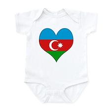I Love Azerbaijan Infant Bodysuit