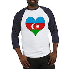 I Love Azerbaijan Baseball Jersey