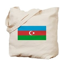 Azerbaijan Flag Tote Bag