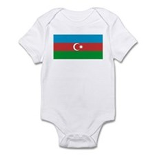 Azerbaijan Flag Infant Bodysuit
