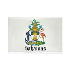 Bahamian Coat of Arms Seal Rectangle Magnet
