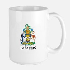 Bahamian Coat of Arms Seal Large Mug