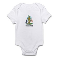 Bahamian Coat of Arms Seal Infant Bodysuit