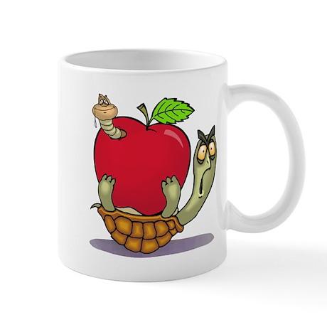Turtle Apple Surprise Mug by kewlkids