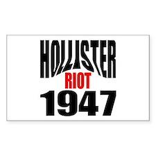 Hollister Riot 1947 Rectangle Decal