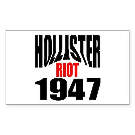 Hollister Riot 1947 Rectangle Sticker