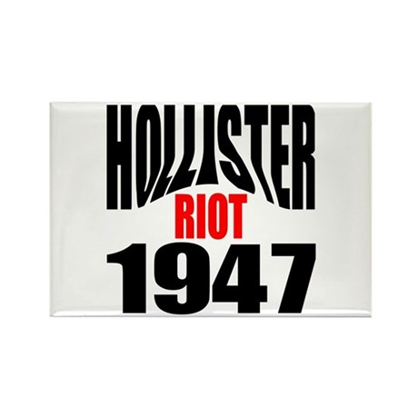 Hollister Riot 1947 Rectangle Magnet (10 Magnets
