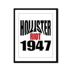 Hollister Riot 1947 Framed Panel Print