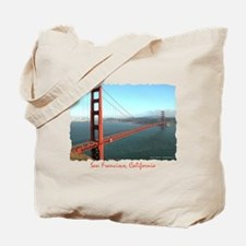 Golden Gate Bridge, SF - Tote Bag
