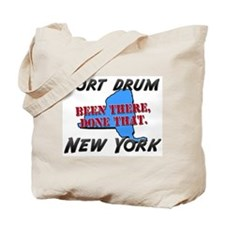 fort drum new york - been there, done that Tote Ba