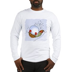 Turtle Snowball Fun Long Sleeve T-Shirt