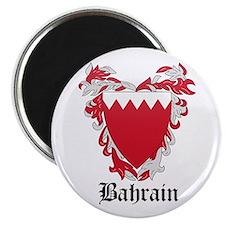 Bahraini Coat of Arms Seal Magnet