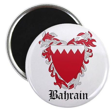 "Bahraini Coat of Arms Seal 2.25"" Magnet (10 pack)"